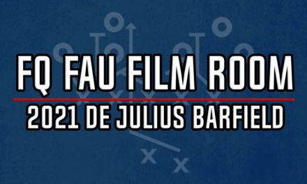 FAU Film Room: 2021 DE Commit Julius Barfield