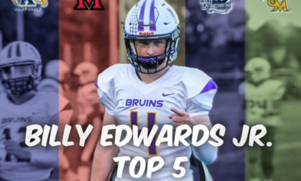 ODU Makes Top 5 for QB Billy Edwards