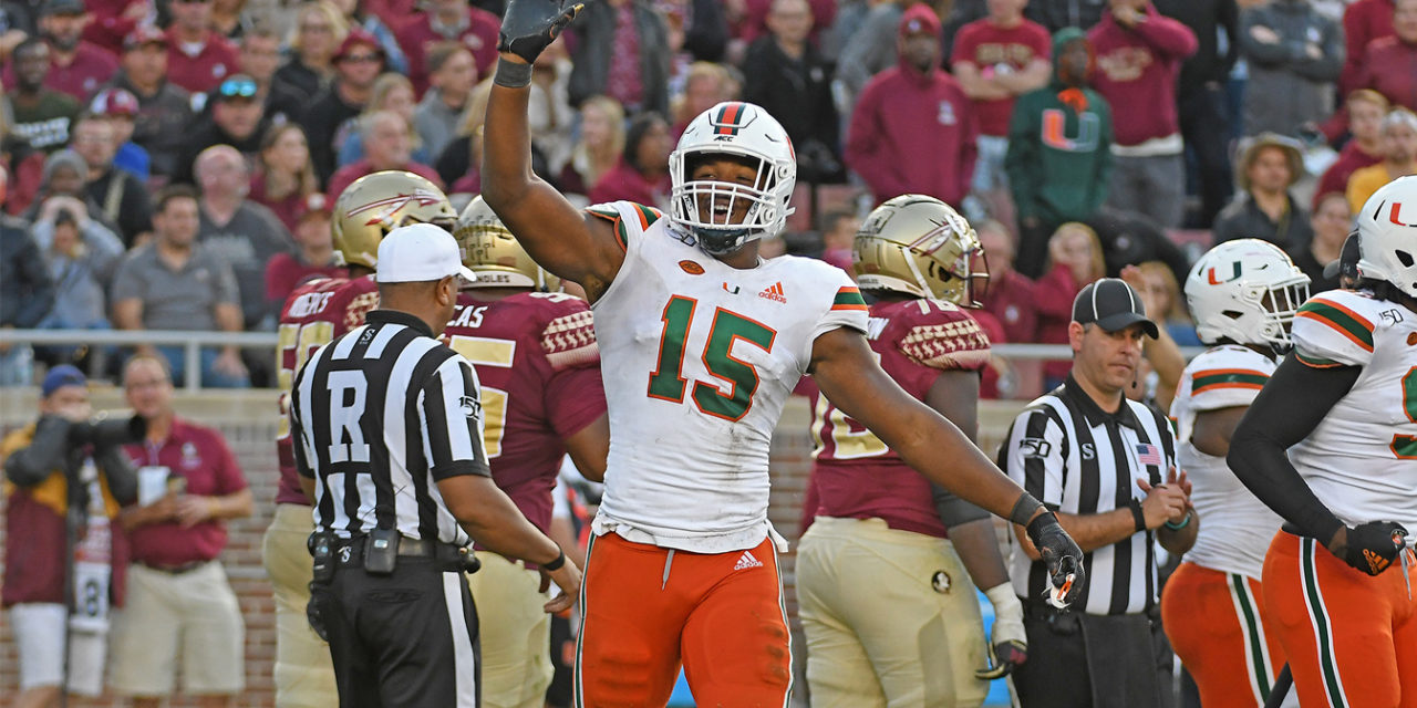 College Football's Top 5 Defensive Lines for 2020: No. 1 — Miami