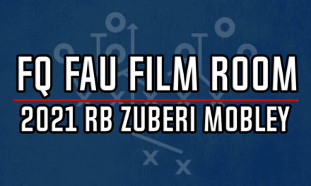 FAU Film Room: 2021 RB Commit Zuberi Mobley