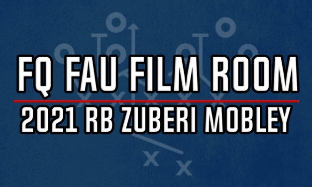 FAU Film Room: 2021 RB Commit Zuberi Mobley