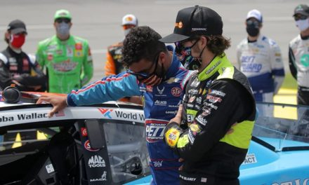 Racing, Not Race: Drivers Show Support for Wallace, Blaney Wins at Talladega