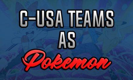 Conference USA East Teams as Pokemon