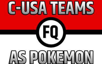 Conference USA West Teams as Pokemon