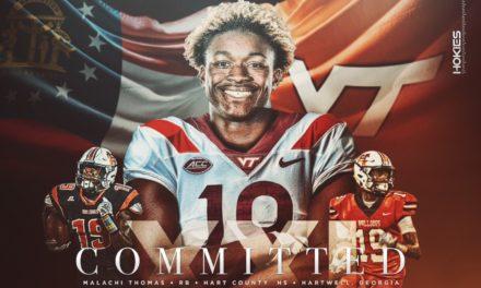 2021 RB Malachi Thomas Commits to Virginia Tech