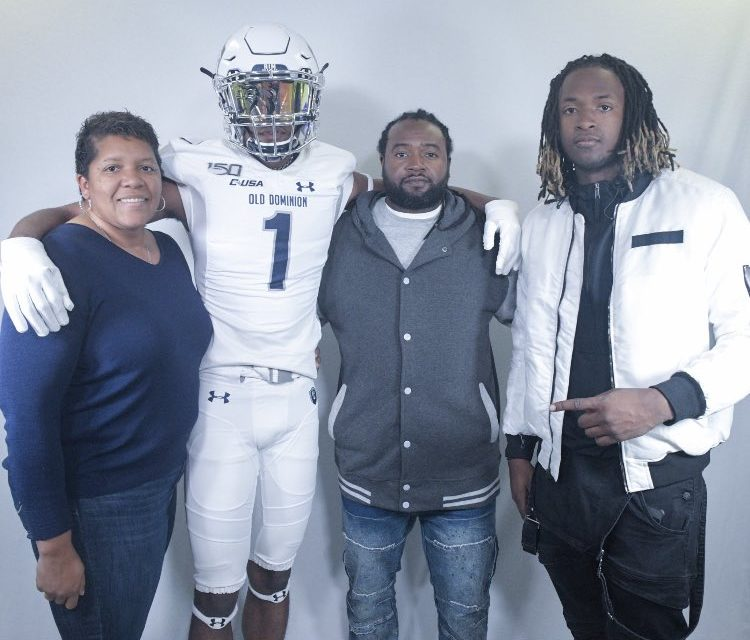 ODU Football: Checking in With 2021 WR Commit Jahee Blake