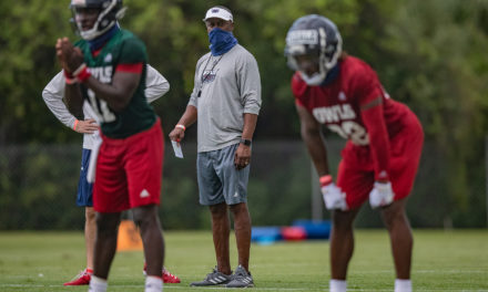 FAU Head Coach Willie Taggart Talks Start of Fall Camp