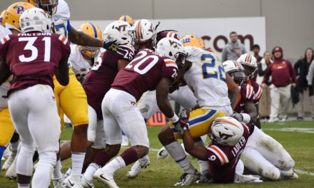 Virginia Tech's Top Home Wins of Fuente Era — No. 3: Hokies Hold Off Pitt with Memorable Goal Line Stand