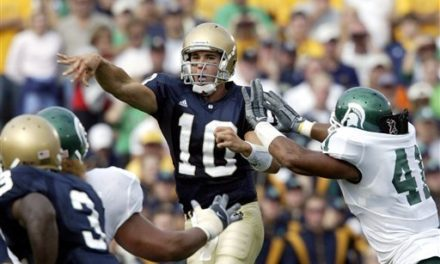 CFB Flashback: 15-Year Anniversary — Michigan State Upsets No. 10 Notre Dame in OT
