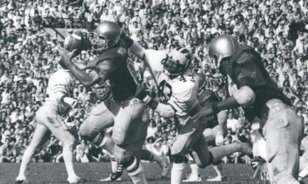 CFB Flashback: 40-Year Anniversary — Harry Oliver's 51-Yard FG Lifts Notre Dame Past Michigan