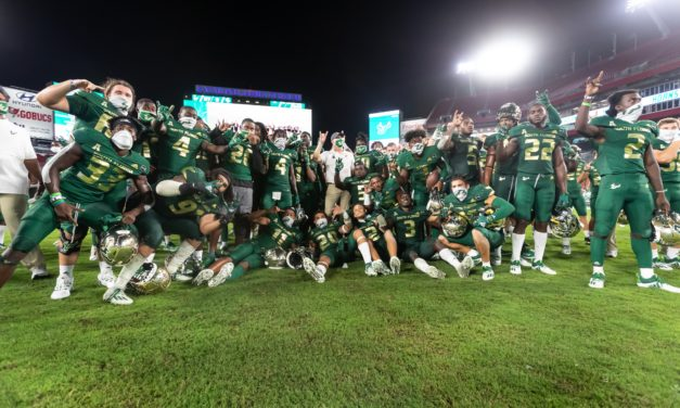 Jeff Scott Notches First Win as USF Defeats The Citadel 27-6