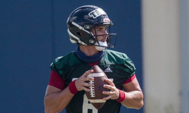 Nick Tronti Named Starting Quarterback for FAU