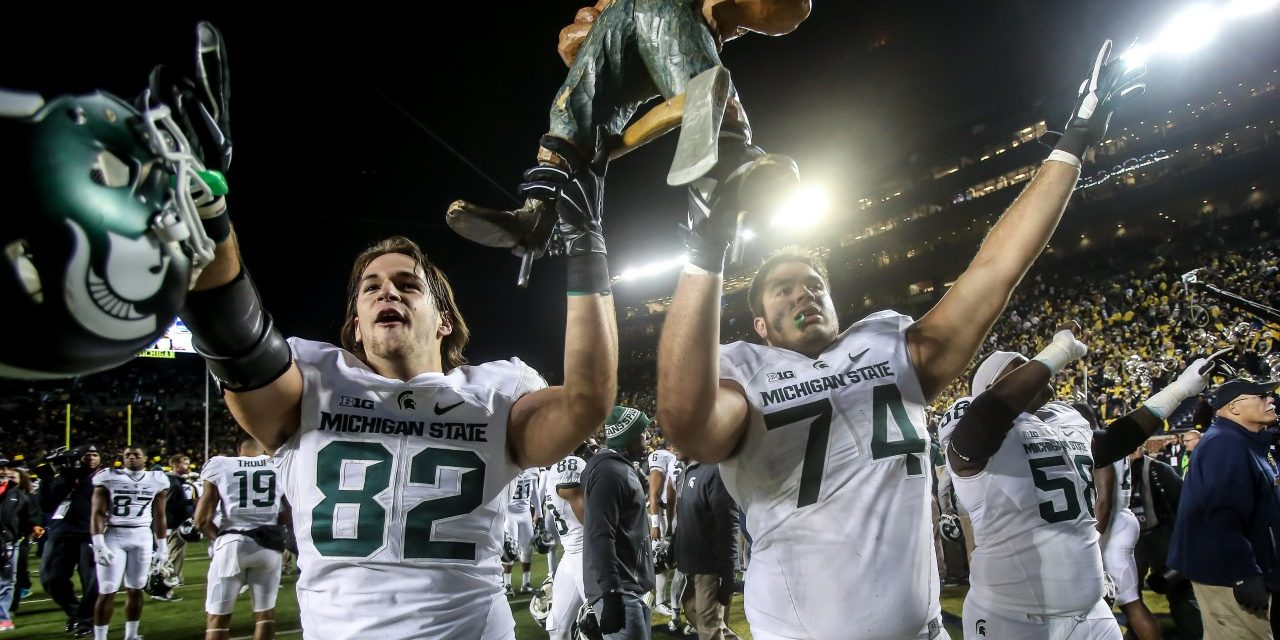 CFB Flashback: 5-Year Anniversary — Michigan State Stuns Michigan In Miracle Finish