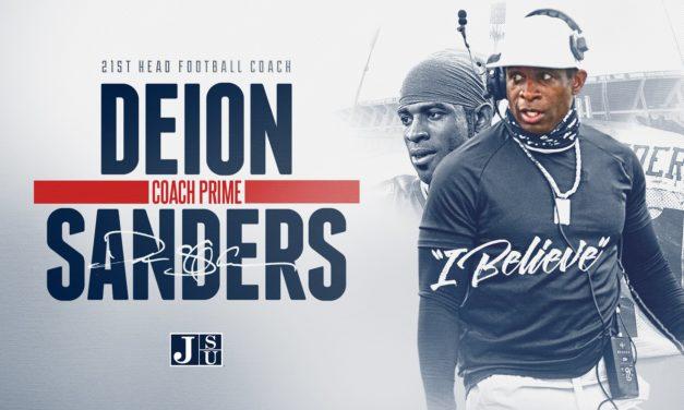 Deion Sanders Introduced as New Jackson State Head Coach