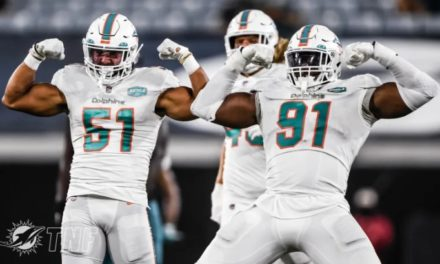 The Good, the Bad and the Dolphins: Week 3, 2020 — Dolphins Overwhelm Jaguars, 31-13