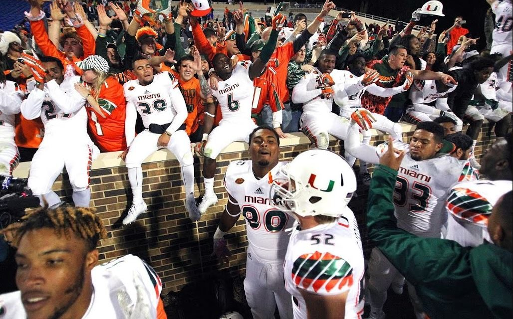 CFB Flashback: 5-Year Anniversary — Hurricanes Use Eight Laterals to Stun Duke