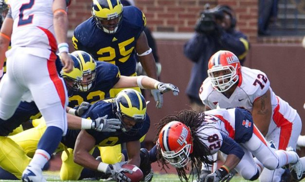 CFB Flashback: 10-Year Anniversary — Michigan Outlasts Illinois in Triple-Overtime, 67-65