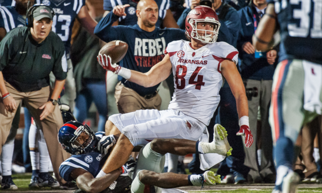 CFB Flashback: 5-Year Anniversary — Crazy Fourth Down Play Aids Arkansas in OT Win Over Ole Miss