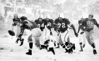 "CFB Flashback: 70-Year Anniversary — Ohio State Tops Michigan in Famed ""Snow Bowl"" to Win Big Nine"