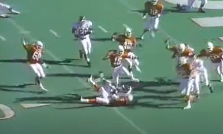 CFB Flashback: 30-Year Anniversary — Texas Stops A&M's 2-Point Conversion to Win SWC Title Outright