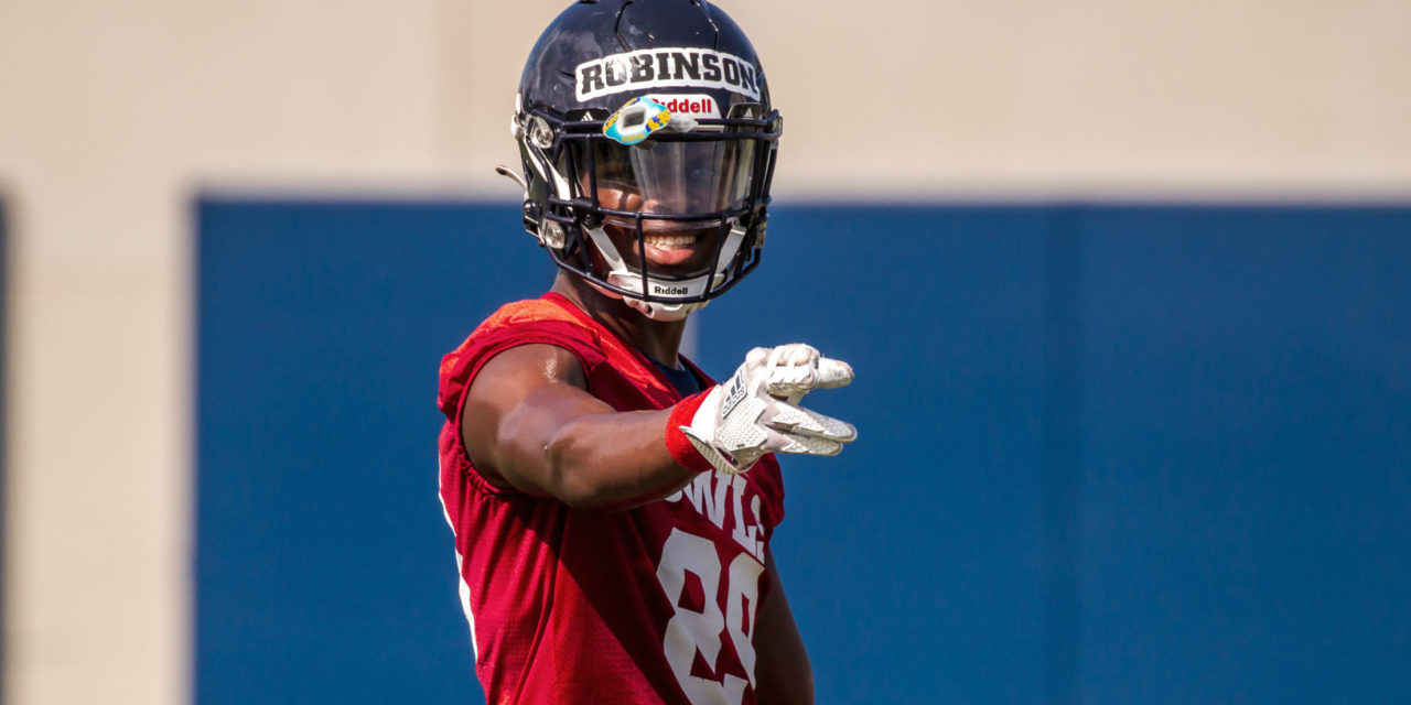 After Earning Scholarship In Offseason, Brandon Robinson Making Most of Opportunity