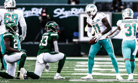 The Good, the Bad and the Dolphins: Week 12, 2020 — Dolphins Stifle Rival Jets, 20-3