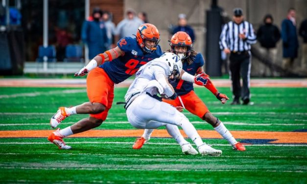 Preview: Illinois and Northwestern Battle for the Land of Lincoln Trophy