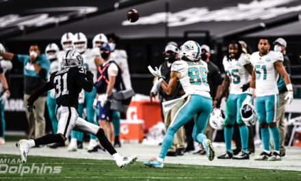 The Good, the Bad and the Dolphins: Week 16, 2020 — Fitzpatrick Leads Miami to Improbable Win Over Raiders