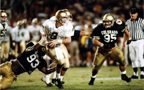 CFB Flashback: 30-Year Anniversary — Controversial Call Costs Notre Dame in Orange Bowl Loss to Colorado