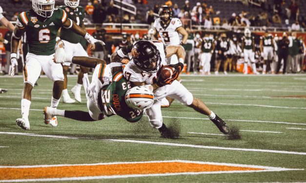 Analysis: Oklahoma State Squeaks by Miami in Cheez-It Bowl, 37-34