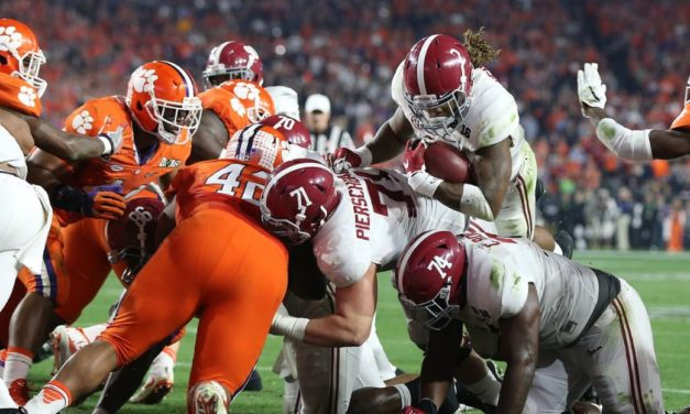 The Five Highest Scoring BCS/CFP National Championship Games