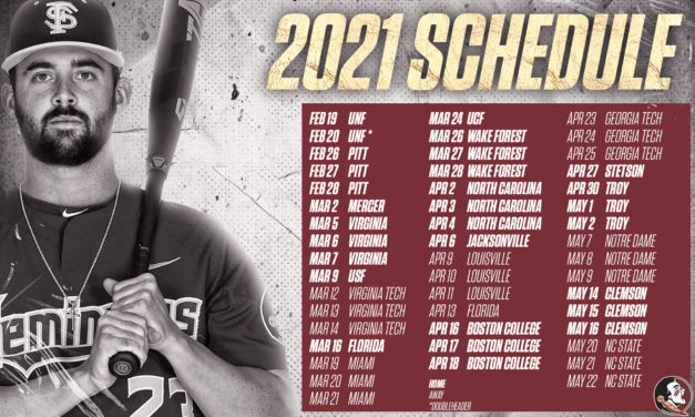 Year 1, Take 2: Previewing the FSU Baseball Schedule