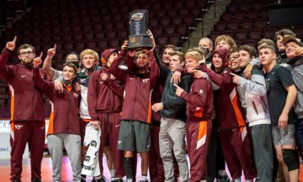Virginia Tech Wrestling: Hokies Celebrate ACC Dual Meet Championship
