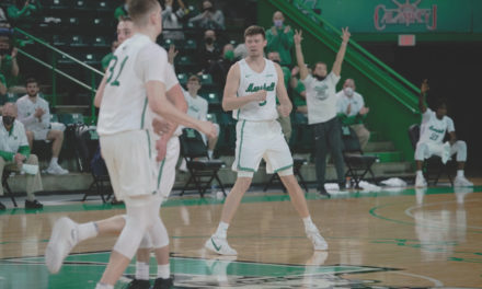 Marshall Men's Basketball Holds on to Defeat North Texas 73-72, Salvage Season Split