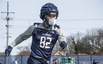 First Day Out: Day 1 of ODU Spring Practice
