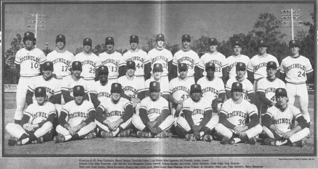 35-Year Nole Anniversary: FSU Baseball Defeats South Carolina Twice for Metro Title