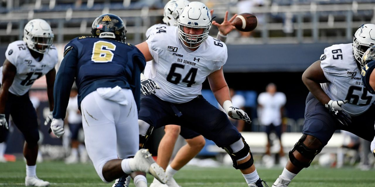 ODU Has High Expectations for Redshirt Freshman OL Saldiveri