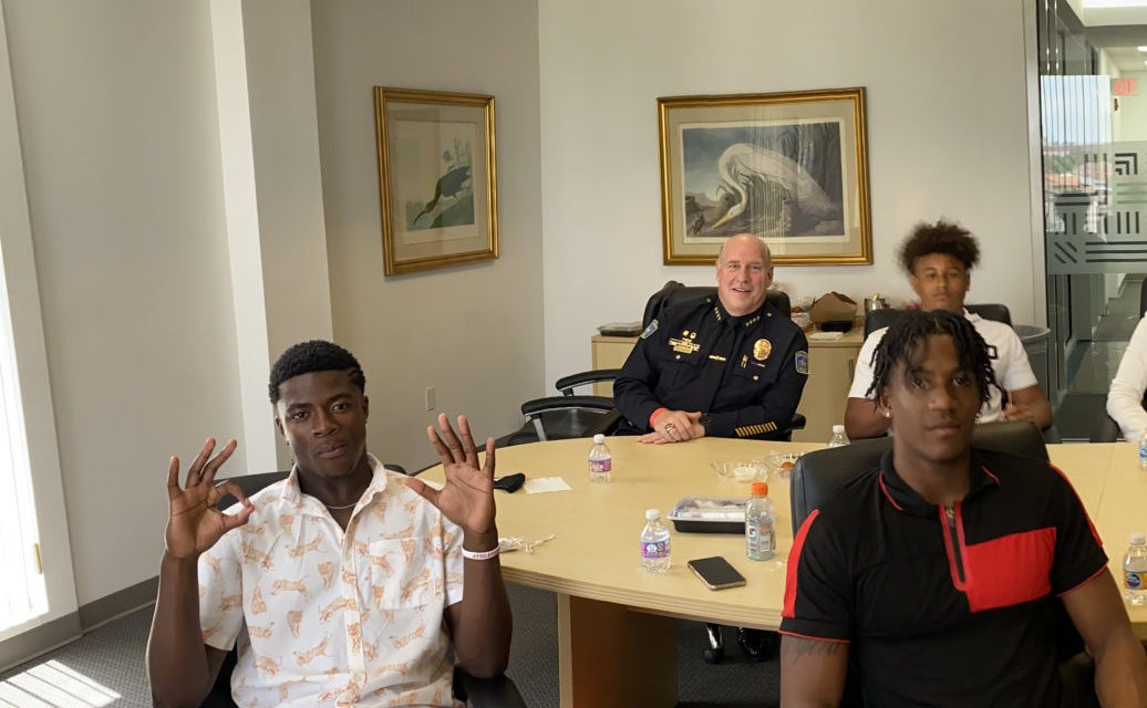 Brown and Bond Participate in DOMX Life Beyond the Game Program While on Miami Visit