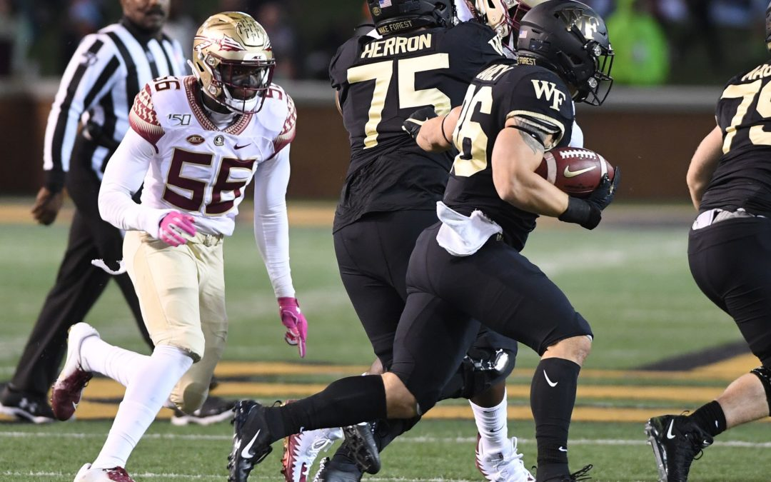 2019 FSU-Wake Forest: Game Balls