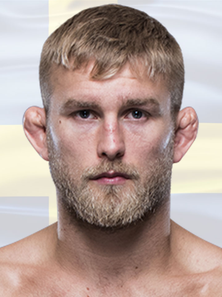 Photo of Alexander Gustafsson