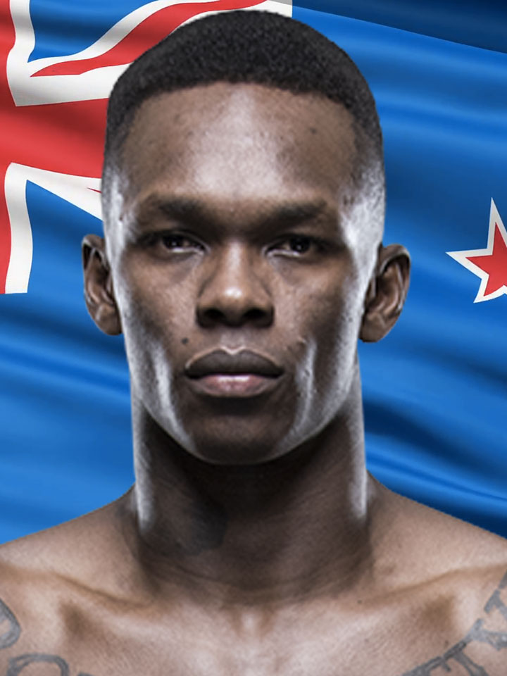 Photo of Israel Adesanya