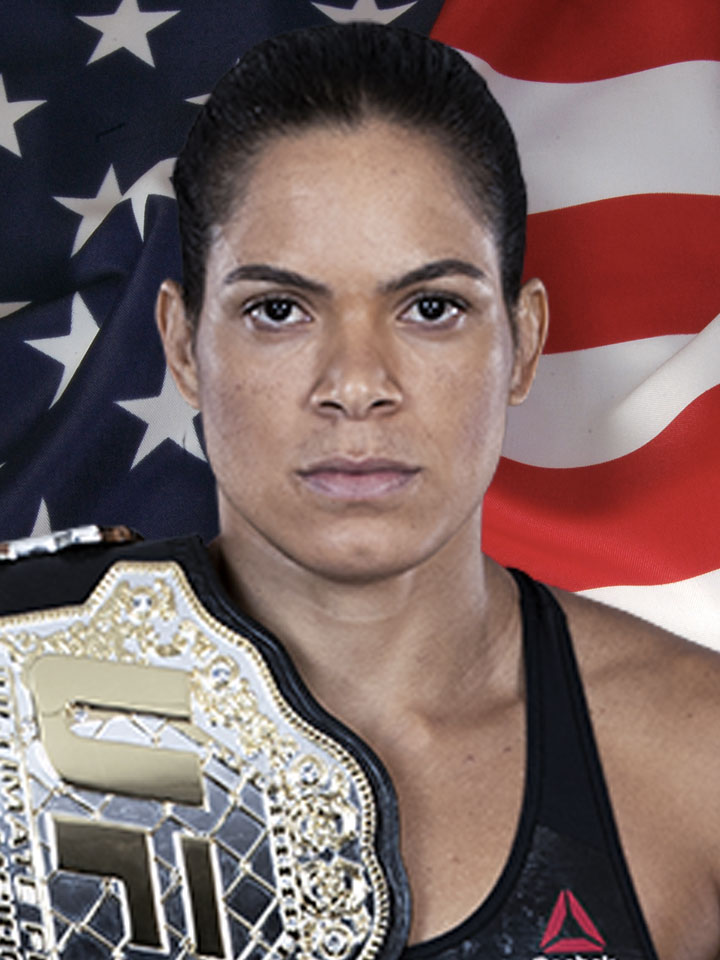 Photo of Amanda Nunes