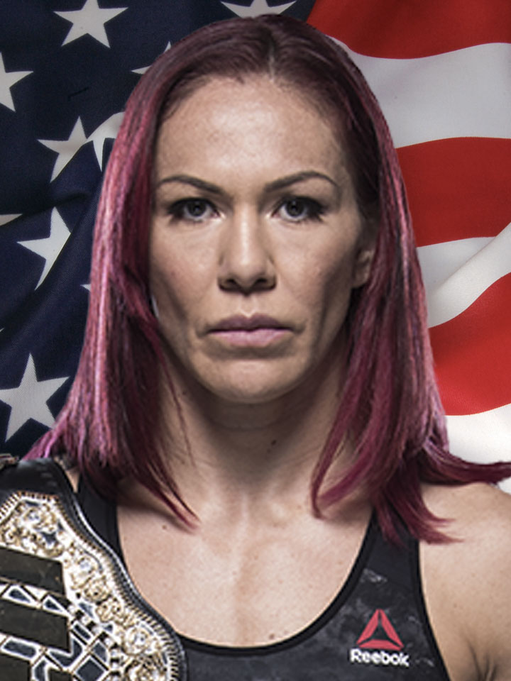 Photo of Cris Cyborg