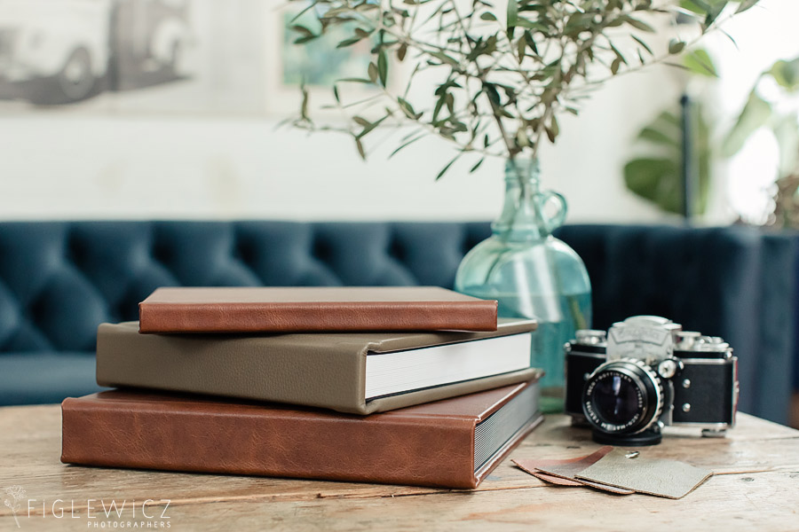 Figlewicz Photography Leather Wedding Album
