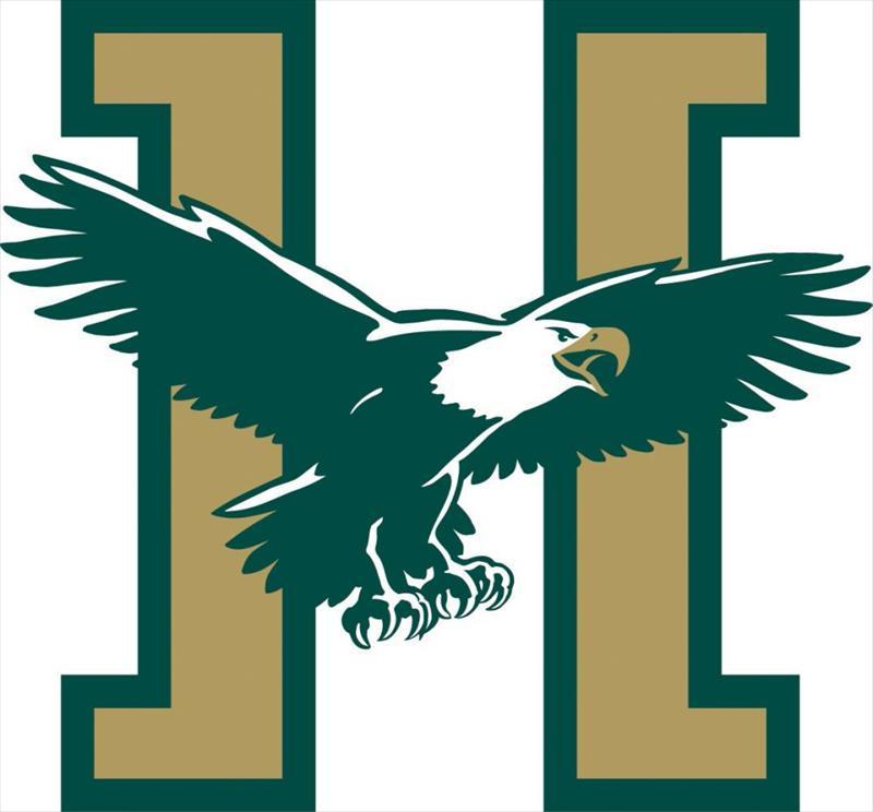 The logo of Husson University