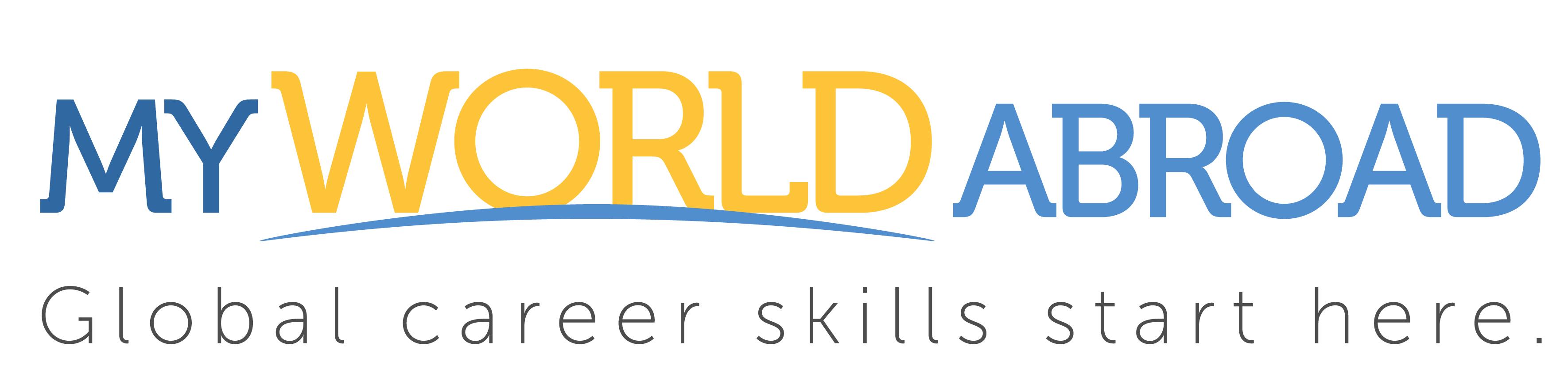 MyWorldAbroad Logo - Horizontal