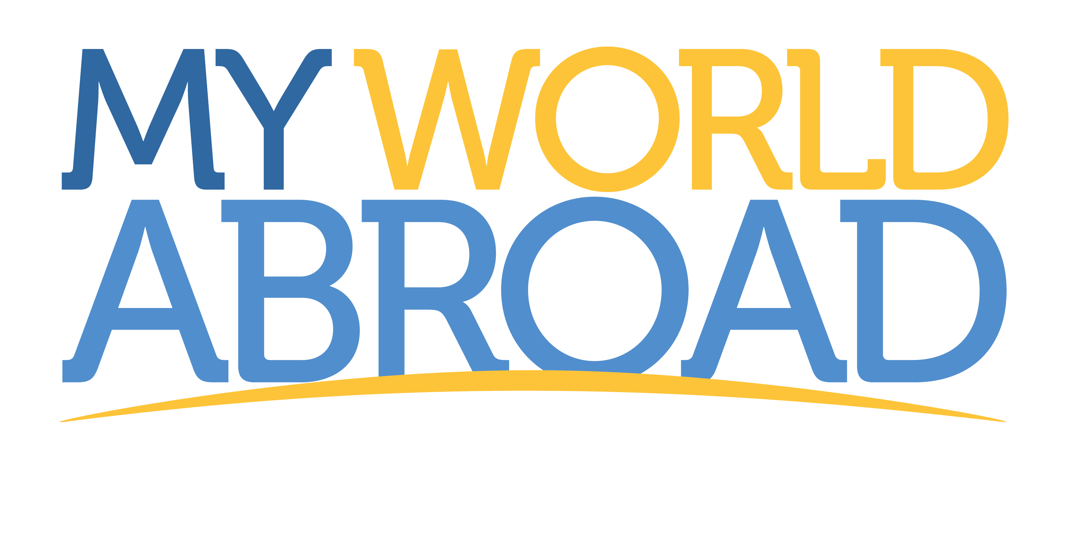 MyWorldAbroad Logo - Vertical