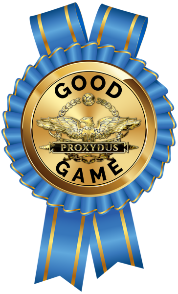 image result for proxydus badge award for good game