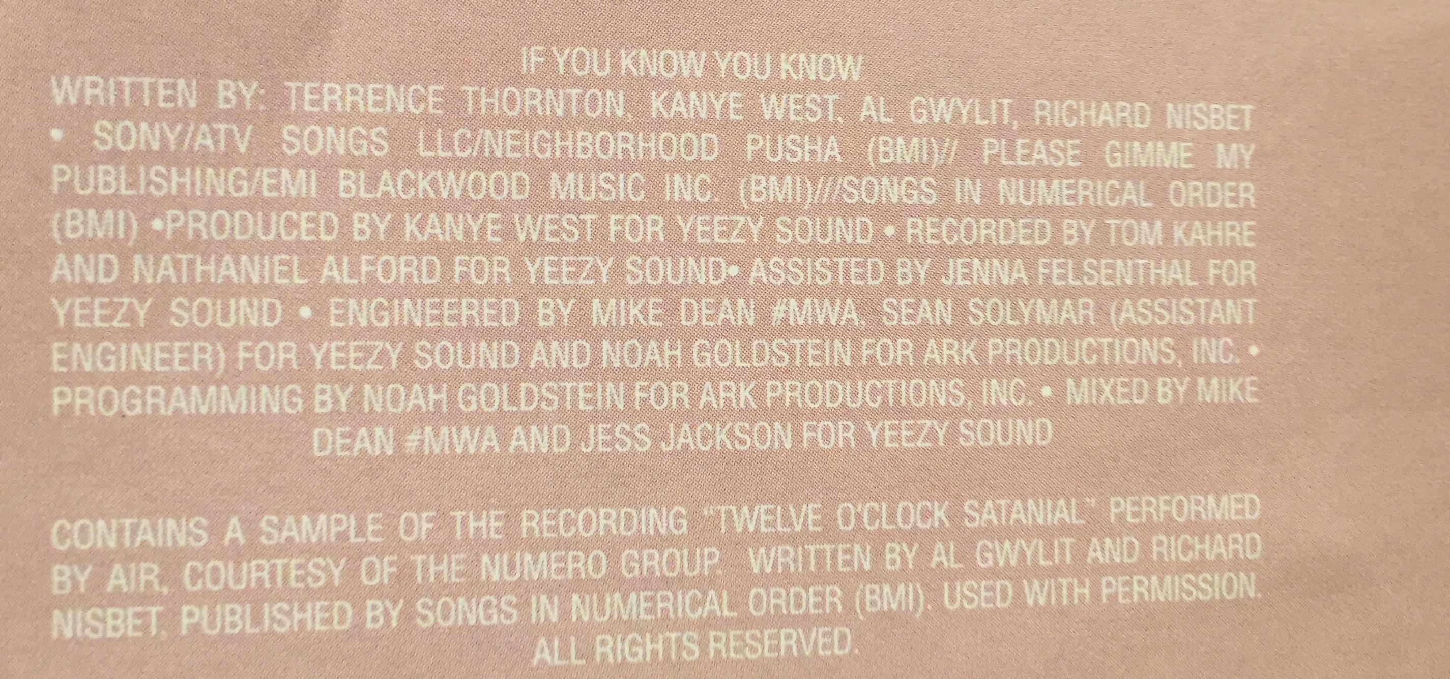 Pusha T – If You Know You Know Lyrics | Genius Lyrics