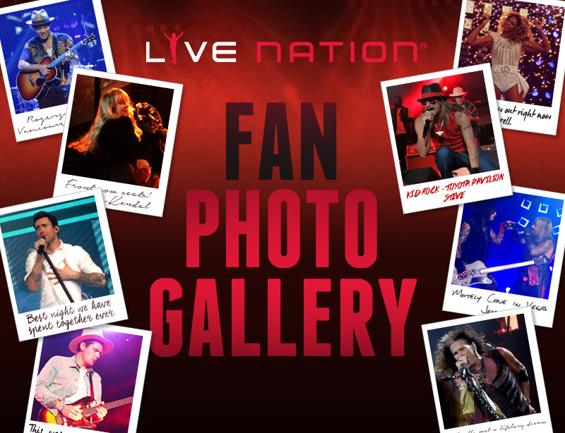 Live Nation Fan Photo Gallery